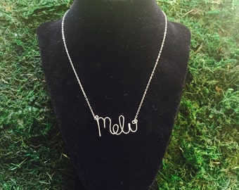 Custom Sterling Silver Necklace