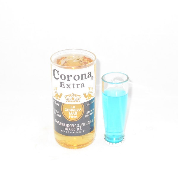 Corona glass and shot set for How to make corona glasses