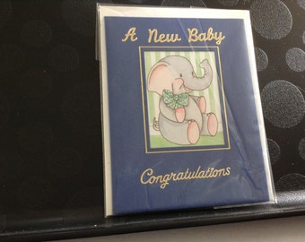 A New Baby Congratulations Card
