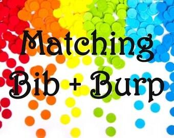 Matching Bib + Burp