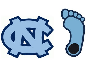 UNC Yeti/Car Decals
