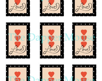 Printable Love Tags Commercial Use