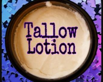 Tallow Lotion; Organic