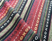 Reserved for ..Sender: Custom Designs By Sis RereTribal Fabric Striped Fabric Ethnic Fabric Native Fabric