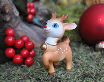 Prancing Christmas Reindeer