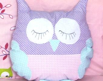 owl pillow toy