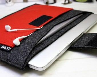 Felt Macbook case, 15 inch laptop case, Macbook Pro sleeve, Pro Retina case 15, felt laptop sleeve, Macbook cover 15, Macbook Pro case 15