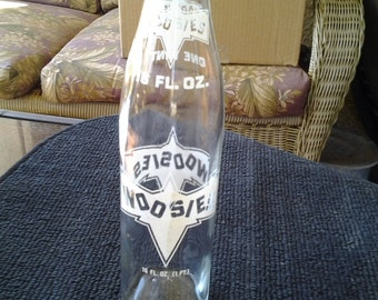 Woozies vintage pop bottle 1975