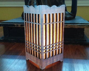 Unique Rice Paper Lamp Related Items Etsy