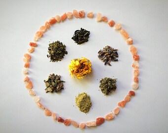 Organic Sitz Bath Herbal Sitz Bath Postpartum Sitz Bath Healing Postnatal Herbal Sitz Bath