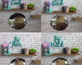 Dollhouse Wall Words inspiration range