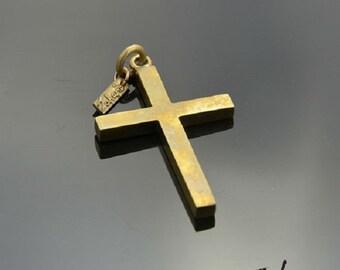 Pendant Crucifix Bronze