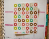 Donut Stickers - Set of 45