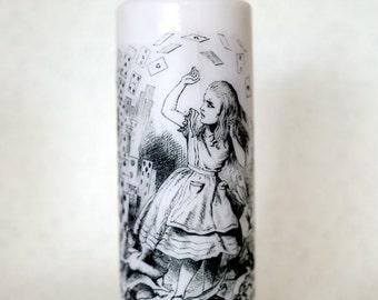 Alice in Wonderland pillar candles