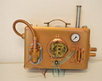 Briefcase for a Steampunk doctor or a saboteur, made by Nemo's