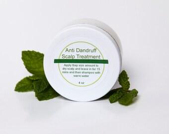 Anti Dandruff Scalp Treatment / Peppermint Scalp Treatment / Tea Tree Scalp Treatment / Anti Dandruff Hair Treatment / Anti Itch