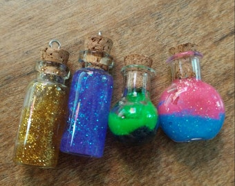 Witch & Wizard Elixir necklaces.