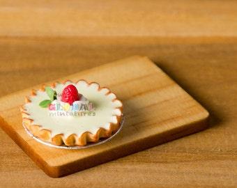 Dollhouse Miniatures Egg Tart