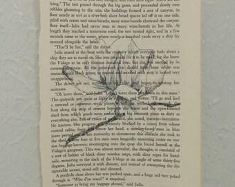 Magnolia Book Page Print