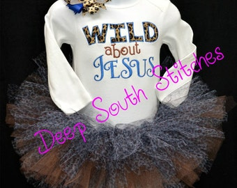 Custom Made Tutu Birthday or Special Occasion Set - one piece body suit or t-shirt and high chair tutu