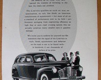 1941 Buick Magazine Ad