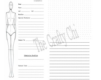 PRINTED Knitting Knitters Knit Designers Journal Traveler's Notebook / Fauxdori Insert-