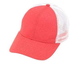 Blank trucker hats
