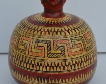 For Sale Geometric Period Ceramic Pomegranate