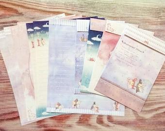 Sentimental Circus Letter Set - Starry Skies