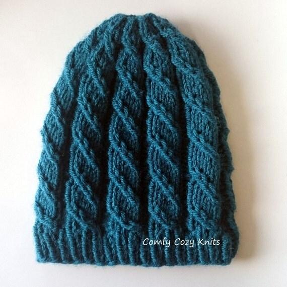Knit Unicorn Hat Pattern : Knitting pattern unicorn slayer twisted hat spiral