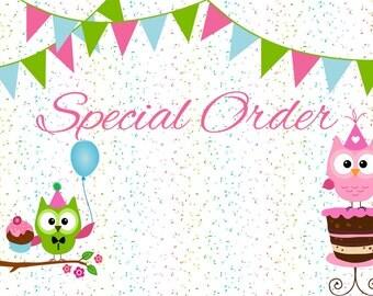 Special Order for debbi