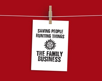 The Family Business A4 Unframed Prints