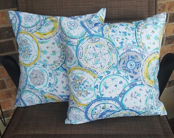 Blue Dreamcatcher 14x14 Pillow Cover Set