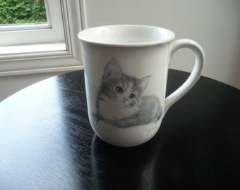 Vintage Otagiri Cat Cup