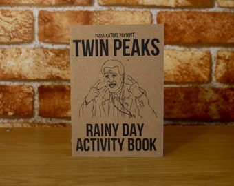 Twin Peaks Rainy Day Colouring & Activity Book