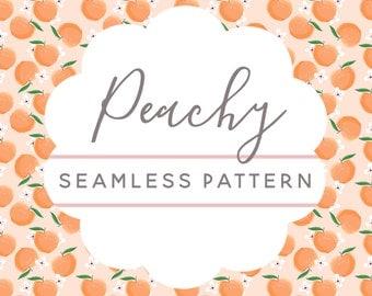 Peachy Seamless Pattern