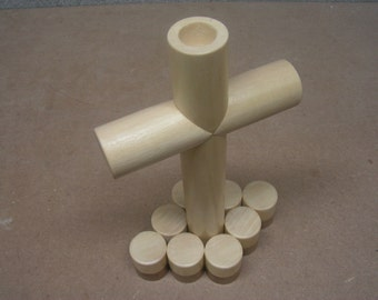 Cross Candleholder