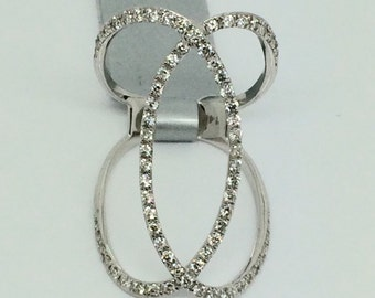 14K White Gold Diamomd Ring