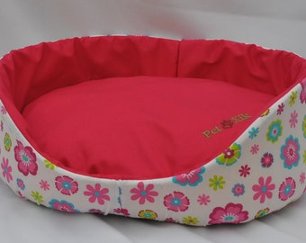 Pet bed, pet Xik Rosa Floral, pet Furniture