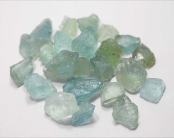 A+++ Natural Original Aquamarine Blue Rough Nuggets 309 CTS Free Shipping By Amore India  SU056