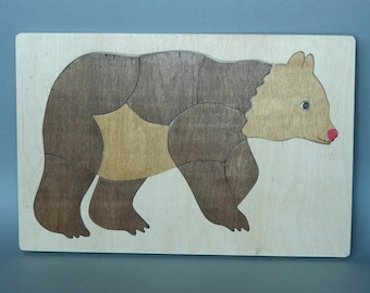 EP037 Bear (wooden puzzle)