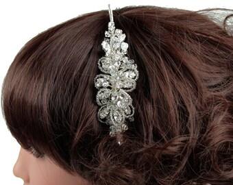 Childs Headdress,  Crystal Hair Band, Childrens Headdresses, Bridesmaid Headdresses, First Communion, Flower Girl Headdress