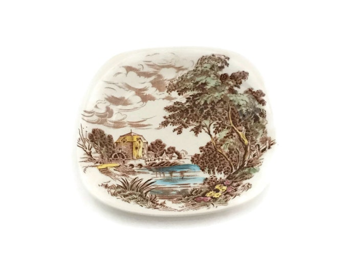 Crown Staffordshire Trinket Dish Made in England