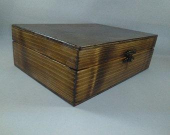 dark broun box weding box picture box gift box, keepsakebox dimensions 12x16x7cm interior.