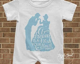 Cinderella Romper, Prince Charming, Princess, Prince, Toddler Gift, Romper, Baby Gift, Gift for baby, shower gift, baby shower gift,