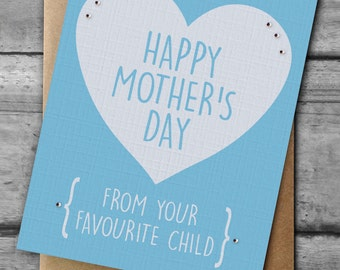 From your favourite Child Mother's Day Card - choose a colour