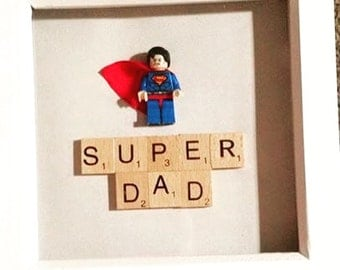 Lego mini figure frame
