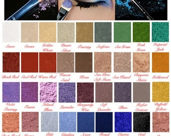 Studio Mineral Pure Natural Matte Eyeshadow Makeup Eye Liner & Shadow Pigment Made in the USA