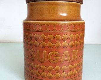 """Vintage Hornsea """"Sugar"""" holder."""