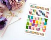 Planner Nerd Set -- Matte Planner Stickers